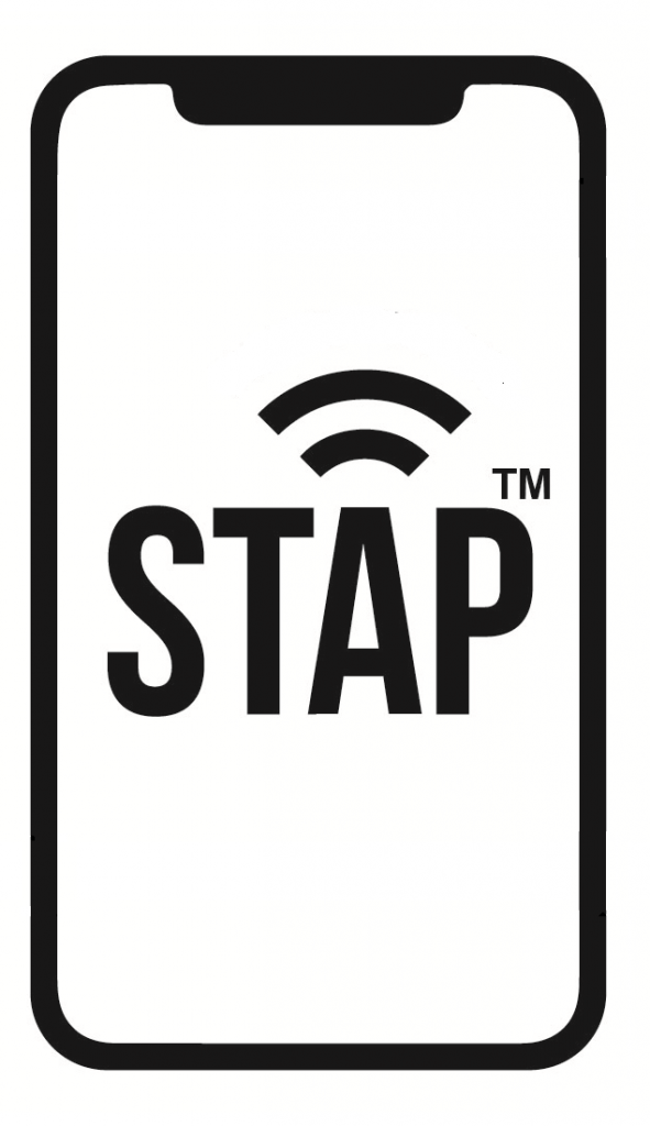 STAP logo to represent payment microchip technology